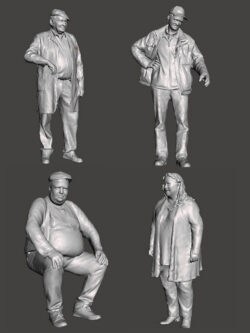 Village figurines