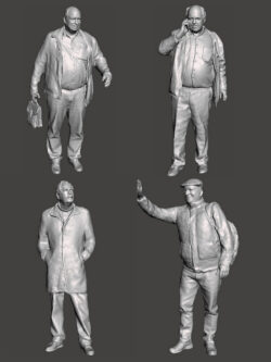 City Figurines